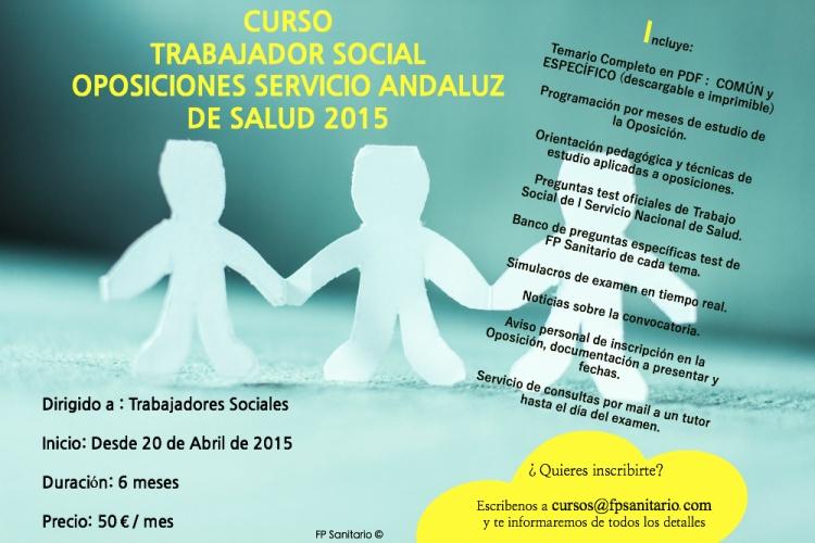TRABAJO SOCIAL anuncio
