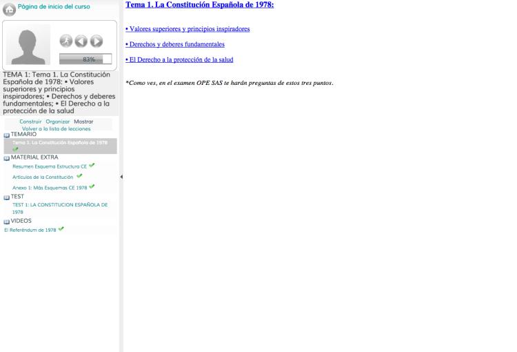 Curso intensivo oposiciones sas oposiciones sanitarias for Aula virtual fp valencia
