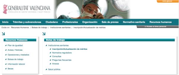 bolsa trabajo c.valenciana